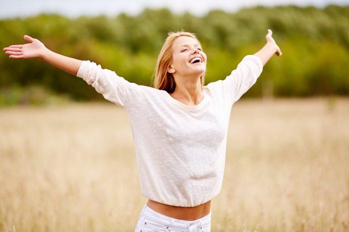Woman Joy In Christ